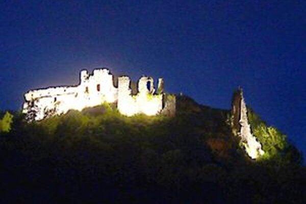 Bystrický hrad.