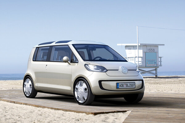 Koncept Volkswagen Space Up Blue z roku 2007