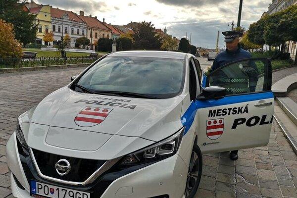 Mestská polícia v Prešove.