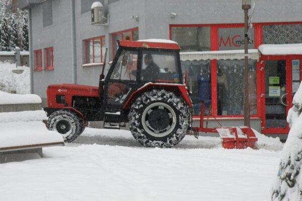Ilustračné foto: Zimná údržba Prievidza.