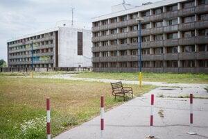 Ubytovacie zatiadenie ministerstva vnútra pri Gabčíkove.