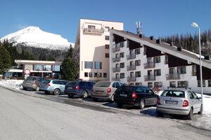 Štrbské Pleso, hotel FIS.