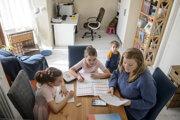 Aj doma deti potrebujú pri učení prestávky a striedanie aktivít.