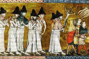 Flagelanti v 14. storočí.