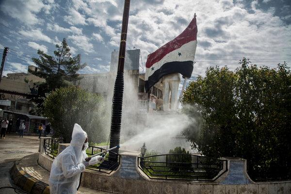 Aj v Sýrii sa šíri koronavírus.