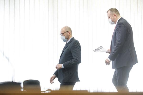 Richard Sulík a Milan Krajniak.