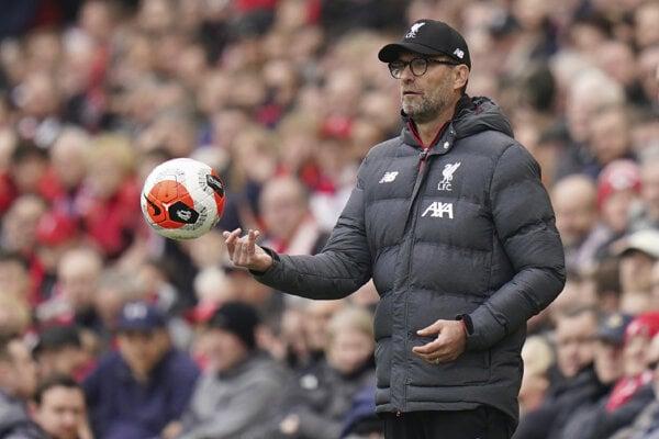 Tréner Liverpool FC Jürgen Klopp.