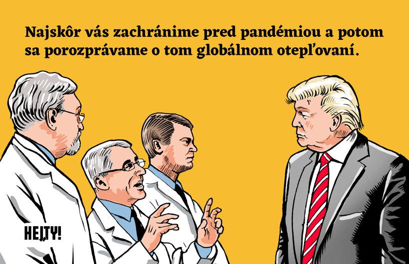 Vedci u Trumpa 30. marca