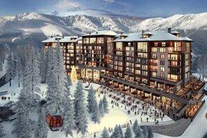 Vizualizácia projektu Damian Jasná Hotel Resort & Residences.