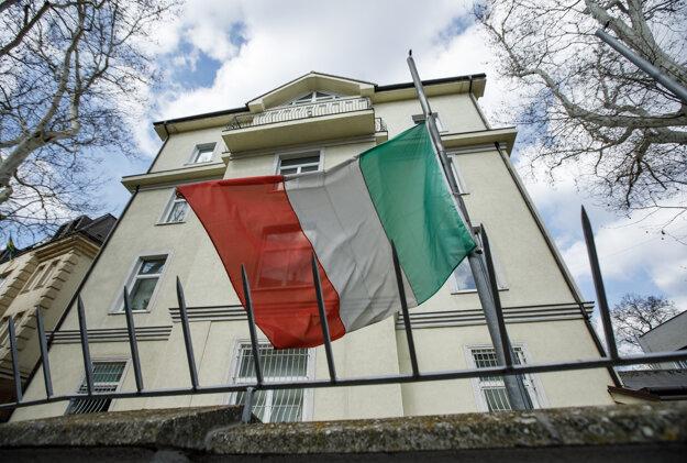 Talianske veľvyslanectvo v Bratislave.