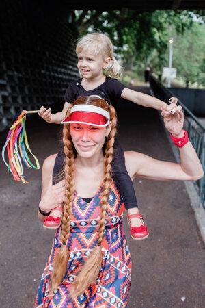 Boba Markovič Baluchová s dcérou Tove Tui.