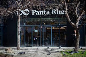 Kníhkupectvo Panta Rhei v Bratislave.