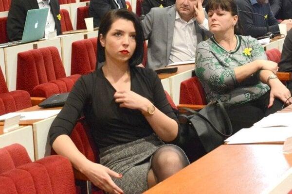 Poverená šéfka Správy ciest KSK Zuzana Slivenská