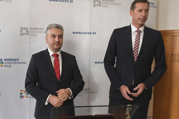 Zľava Rastislav Trnka a Milan Majerský.