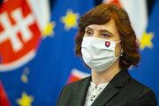 Podpredsedníčka vlády SR pre investície a informatizáciu Veronika Remišová (Za ľudí).