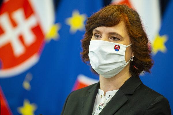 Podpredsedníčka vlády SR pre investície a informatizáciu Veronika Remišová.