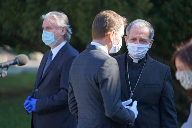 Matovič sa stretol so zástupcami katolíckej a evanjelickej cirkvi.