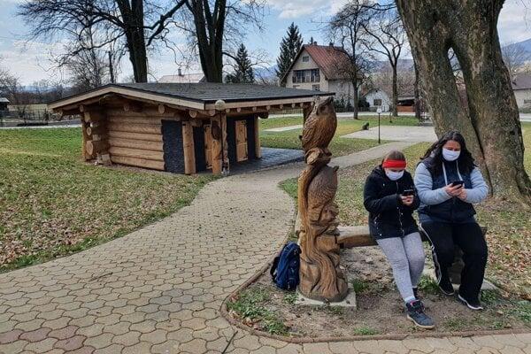 Wifi v rakovskom parku.