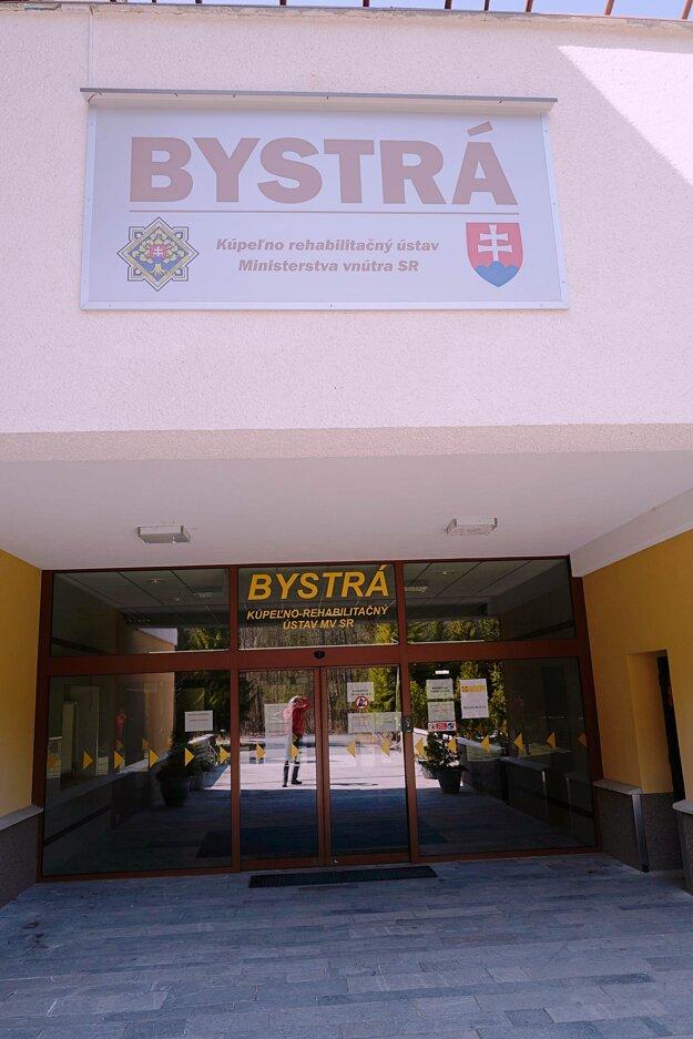 Kúpeľno-rehabilitačný ústav Bystrá v Liptovskom Jáne.