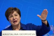 Šéfka Medzinárodného menového fonduKristalina Georgievová.
