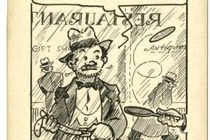 Mathisov nešťastný hrdina si uťahuje opasok, jeho príhody pochádzajú z čias veľkej hospodárskej krízy.