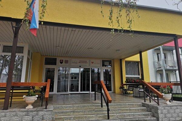 Zariadenie pre seniorov Náruč v Prešove na Veselej ulici.