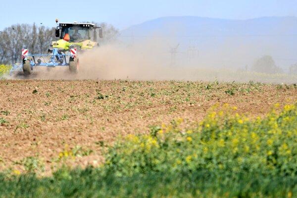Suchá zima a jar narobili poľnohospodárom problémy.