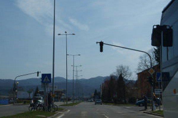 Ulica SNP v Žiari.