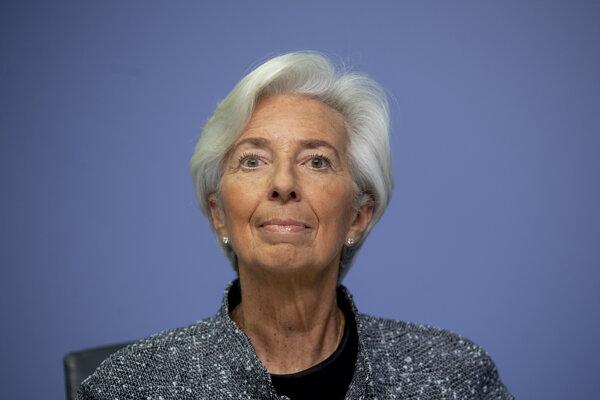 Šéfka Európskej centrálnej banky Christine Lagardová.