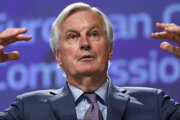 Vyjednávač Európskej únie pre brexit Michel Barnier.