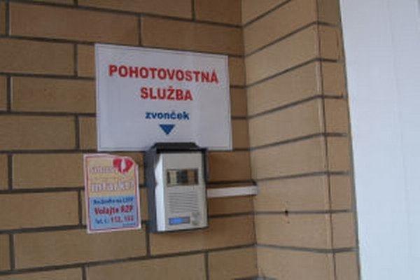 Lekársku službu prvej pomoci poskytujú v Kremnici len cez víkendy. V najbližších mesiacoch ju majú zrušiť úplne.