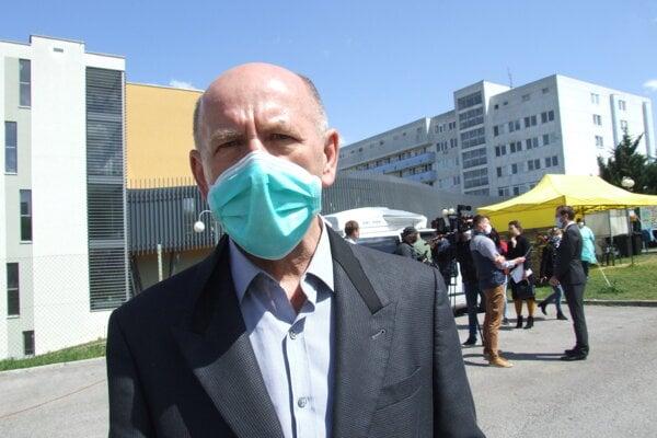 Riaditeľ nitrianskej nemocnice Milan Dubaj.