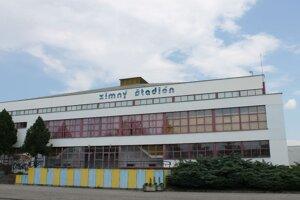 Zimný štadión v Trebišove.