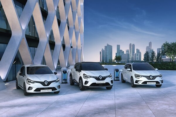 Renaulty s technológiou E-Tech