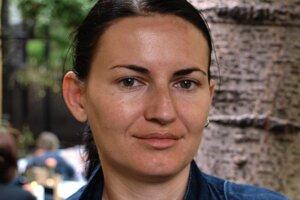 Dušana Karlovská, programová riaditeľka organizácie Fenestra, ktorá pomáha obetiam domáceho násilia.