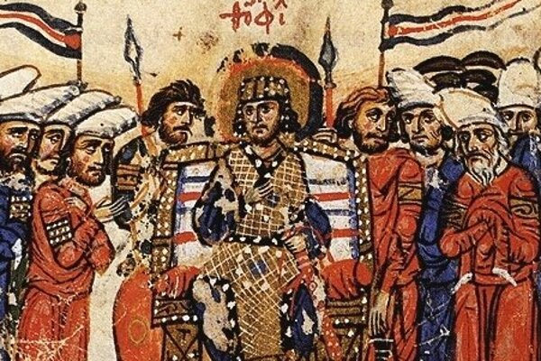 Byzantský cisár Teofil