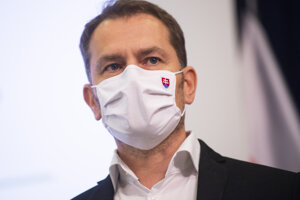 Predseda vlády Igor Matovič (OĽaNO).