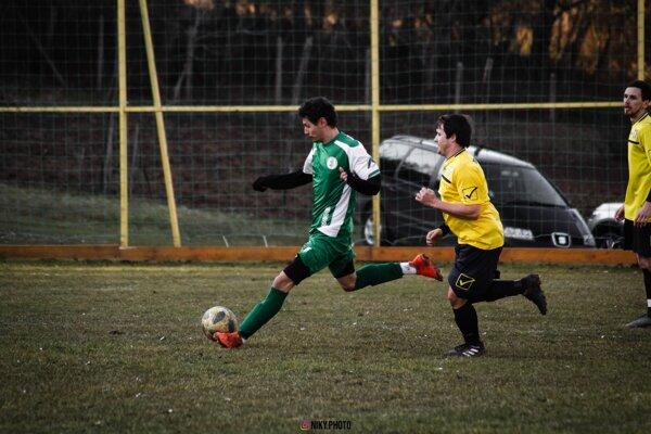 Záber zo zápasu prvého jarného kola Čechy - Tvrdošovce 0:3