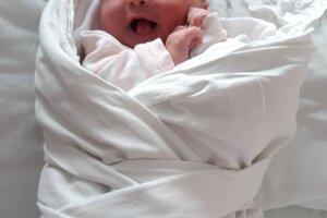 Eliška Šedivá (4140 g, 51 cm) sa narodila 25. apríla Martine a Jozefovi z Nemšovej.