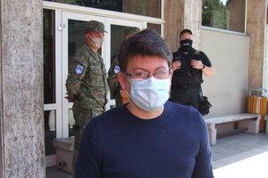 Riaditeľ študentských domovov Peter Hrobár.