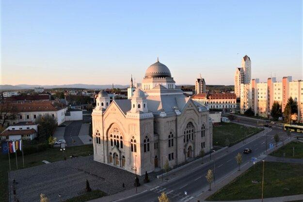 Synagóga v Lučenci - ilustračné foto