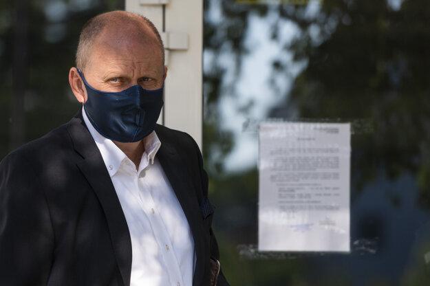 Právny zástupca poškodenej Zlatice Kušnírovej Roman Kvasnica.