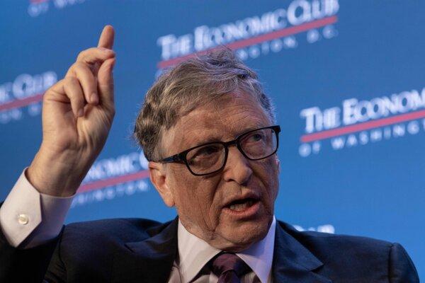 Spoluzakladateľ spoločnosti Microsoft Bill Gates.