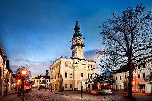 Z Kežmarku budujú moderné mesto.
