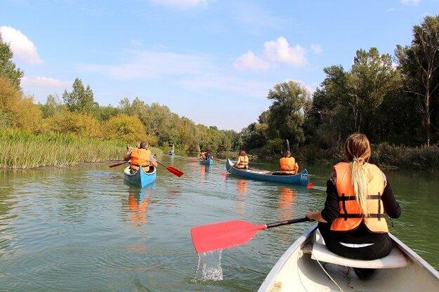 Splavovanie Malého Dunaja