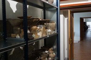 Archeologický depozitár má priestorovú rezervu na dlhšie obdobie.