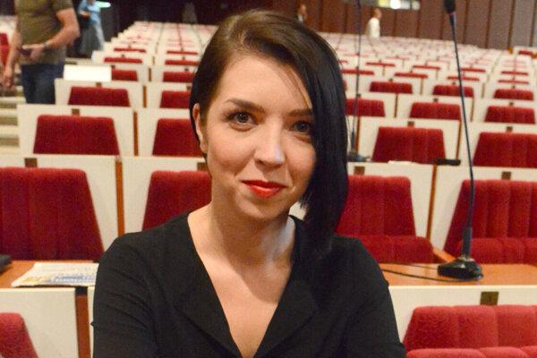 Poverená riaditeľka SC KSK Zuzana Slivenská.