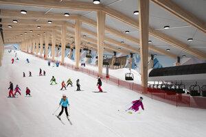 Celoročná lyžiarska hala ľudí rozdeľuje