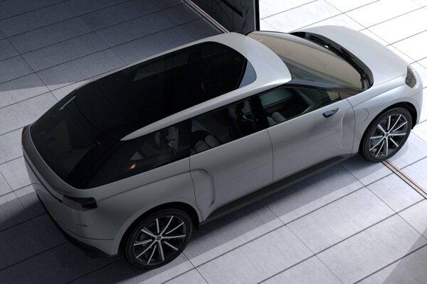 Prototyp elektrického SUV od Dysonu.