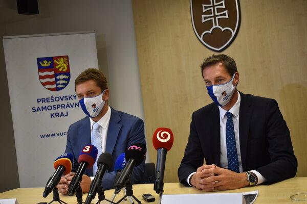 Andrej Doležal a Milan Majerský.